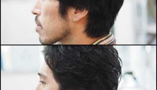 ビフォーアフター:横顔が最高にかっこよく見えるために
